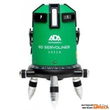 Лазерный нивелир ADA Instruments 6D Servoliner Green [А00500]