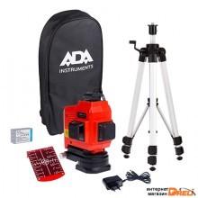 Лазерный нивелир ADA Instruments TopLiner 3x360 [А00484]