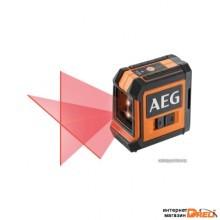 Лазерный нивелир AEG Powertools CLG220-K 4935472254 (с магнитным и потолочным кронштейнами)