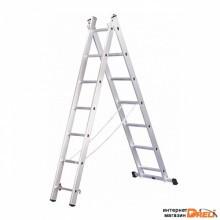 Лестница Dogrular Ufuk Pro 2x14 ступеней (411214)