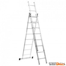 Лестница Dogrular Ufuk Pro 3x8 ступеней (411308)