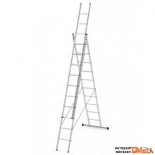 Лестница Dogrular Ufuk Pro 3x9 ступеней (411309)