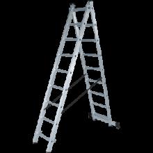 Лестница алюминиевая двухсекционная NV 122, Ступени 2×12 (1220212)