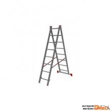Лестница алюминиевая двухсекционная NV 122, Ступени 2×8 1220208