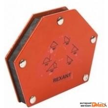 Магнитный угольник держатель для сварки на 6 углов усилие 22,6 Кг Rexant (12-4832)
