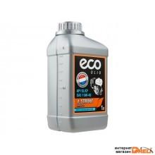 Масло моторное 4-х тактное полусинтетическое SAE 10W-40 ECO 1 л (API SL/CF, всесезонное) (OM4-31)