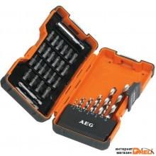 Набор бит AEG Powertools POWER HSS-G 35 предметов [4932352249]