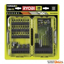 Набор бит Ryobi RAK38DSDI (38 предметов)