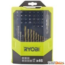 Набор бит Ryobi RAK46MiXC (46 предметов)