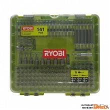 Набор бит Ryobi RAKD141 (141 предмет)