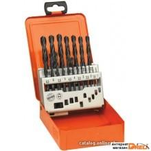 Набор оснастки AEG Powertools PROFI-BOX HSS-R DIN 338 19 предметов [4932352459]
