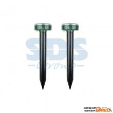 Набор ультразвуковых отпугивателей кротов на солнечной батарее (R20)  REXANT (71-0037)
