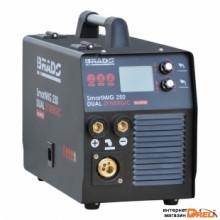 Сварочный инвертор Brado SmartMIG 250 Dual Synergic