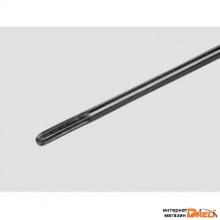 Вал для бензотриммера диаметр 8мм, 7 шлицов
