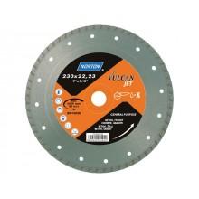 Алмазный круг 115х22.2 мм по кирпичу Turbo VULCAN JET NORTON (70184625185)