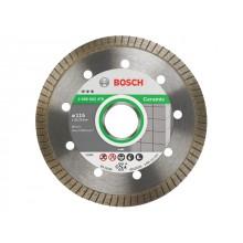 Алмазный круг 115х22,23мм керамика Best Turbo (2608602478) (BOSCH)