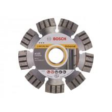 Алмазный круг 115х22,23мм универсальный Best (2608602661) (BOSCH)