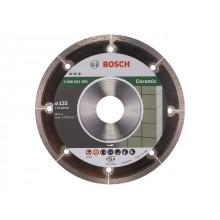 Алмазный круг 125х22,23мм керамика Best (2608602369) (BOSCH)