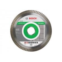 Алмазный круг 125х22,23мм керамика Best Turbo (2608602479) (BOSCH)