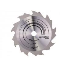 Диск пильный 150х16 мм 9 зуб. по дереву SPEEDLINE WOOD BOSCH (переменный зуб) (2608640808)