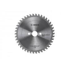 Диск пильный 160х20/16 мм 42 зуб. универсальный MULTIMATERIAL ECO BOSCH (твердоспл. зуб) (2608641800)
