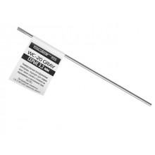 Электрод вольфрамовый серый SOLARIS WC-20, Ф3.2мм, TIG сварка (поштучно) (WM-WC20-3201)