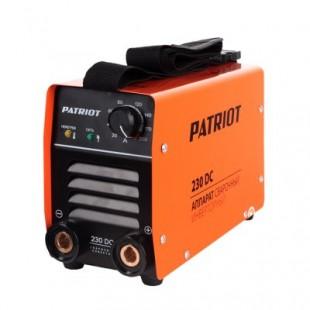 Инверторный сварочный аппарат Patriot 230DC MMA